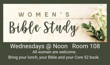 Women's Brown Bag Bible Study