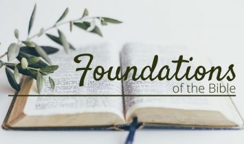 Foundations of the Bible Class